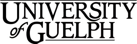 University of Guelph logotype stacked on two lines